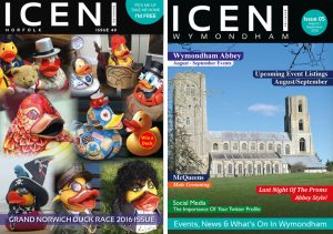 Issue 40 and Iceni Wymondham Issue 05