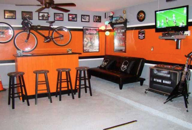 Step by guide to converting your garage into a bar